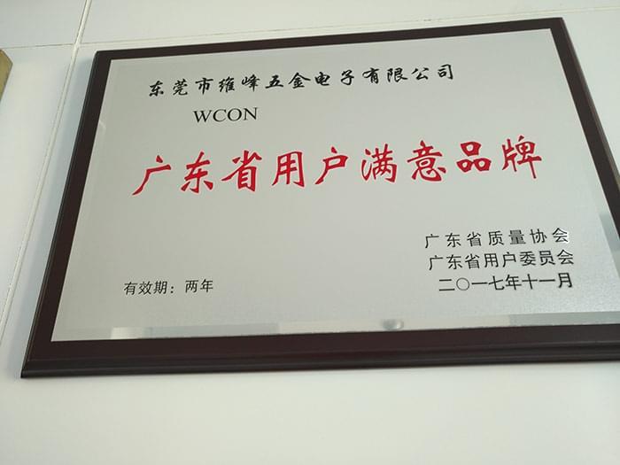 广东省用户满意品牌