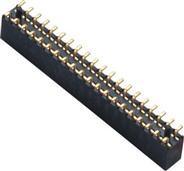 维峰 2.0 排母 SMT LCP料黑色 H=6.35 连接器 供应商