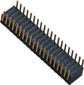 1.27MM �p排 90度��� 塑�z高度H=3.5MM �炔逍� 插板 排母 �B接器 定制
